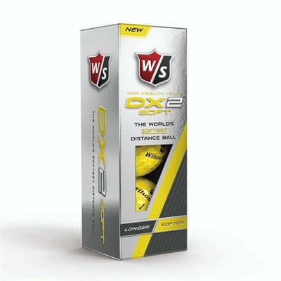 Wilson Staff DX2 Soft Golf Balls Box
