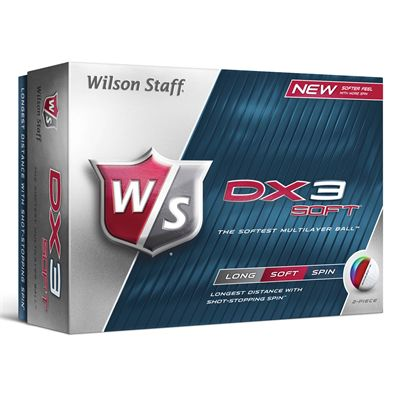 Wilson Staff Dx3 Soft Golf Balls - 1 dozen