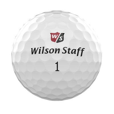 Wilson Staff DX3 Soft Spin Golf Balls - 1 Dozen - Ball