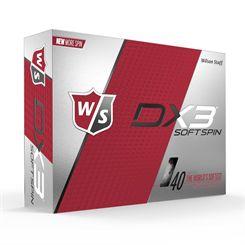 Wilson Staff DX3 Soft Spin Golf Balls - 1 Dozen