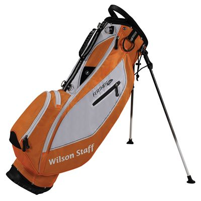 Wilson Staff Feather SL Carry Bag - orange