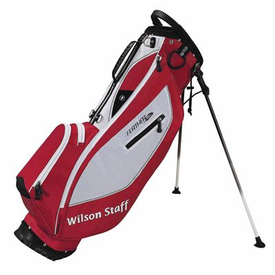 Wilson Staff Feather SL Carry Bag - red
