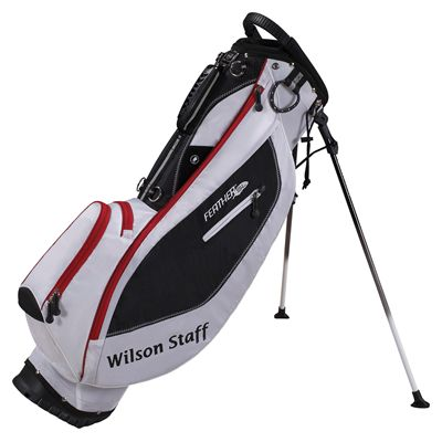 Wilson Staff Feather SL Carry Bag - white