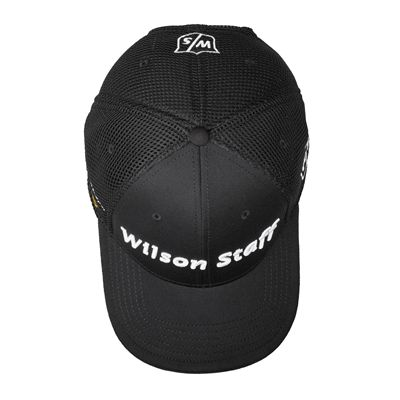 Wilson Staff FG Tour F5 Mesh Cap-Top