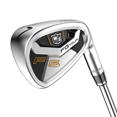 Wilson Staff FG Tour F5 Steel 5-PW Golf Iron Set - Angle