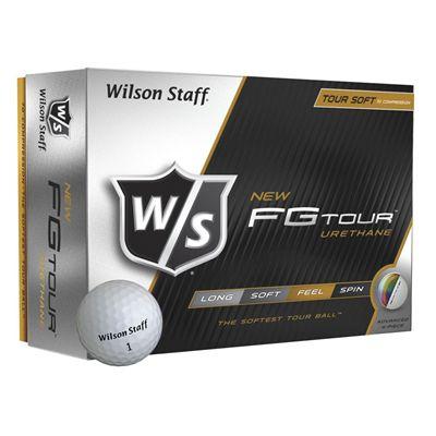 Wilson Staff FG Tour Golf Balls - 1 Dozen (core)