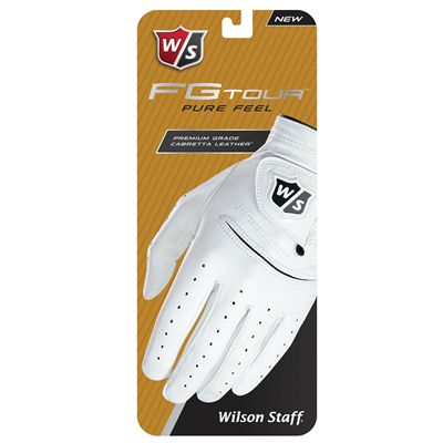 Wilson Staff FG Tour Mens Golf Glove - Package