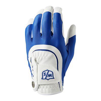 Wilson Staff Fit All Golf Glove - Blue