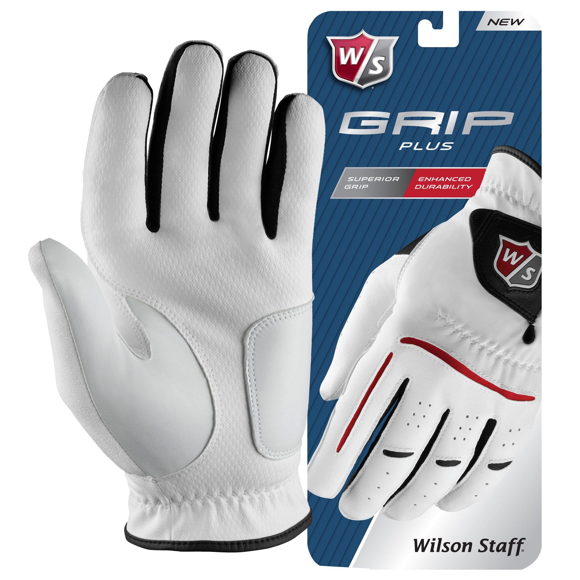 Wilson Staff Grip Plus Mens Golf Glove