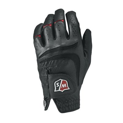 Wilson Staff Grip Plus Mens Black Golf Glove