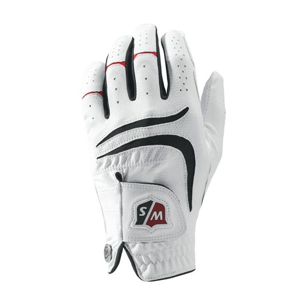 Wilson Staff Grip Plus Mens Golf Glove - L, Left handed