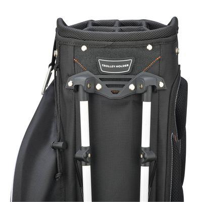 Wilson Staff Hybrix Golf Carry and Cart Bag SS18 - Black - Back