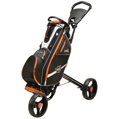 Wilson Staff Hybrix Golf Carry and Cart Bag SS18 - Black - Cart