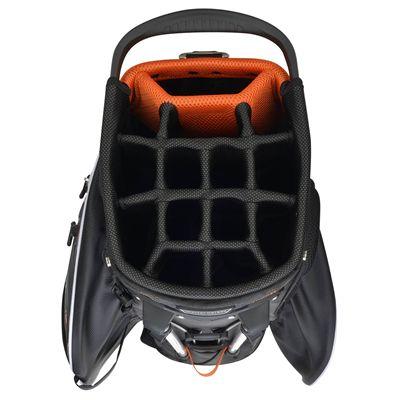 Wilson Staff Hybrix Golf Carry and Cart Bag SS18 - Black - Top