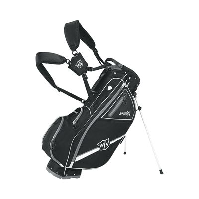 Wilson Staff Hybrix Golf Carry and Cart Bag-BL-xpand