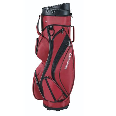 Wilson Staff I-Lock Golf Cart Bag - Red