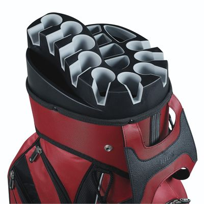 Wilson Staff I-Lock Golf Cart Bag -  Red/Club container