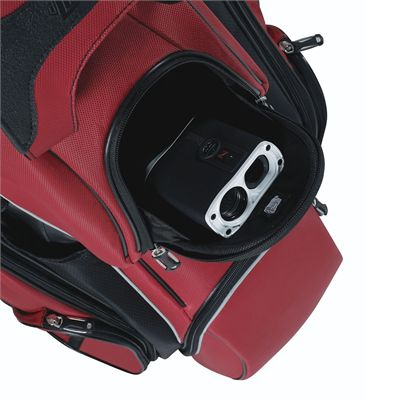 Wilson Staff I-Lock Golf Cart Bag - Red/Pocket
