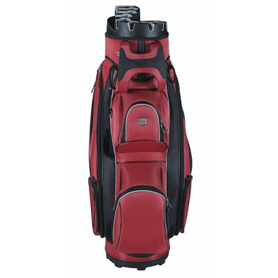 Wilson Staff Prestige Golf Cart Bag - Red/Front