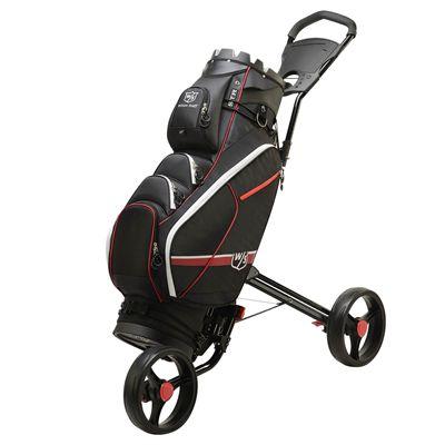 Wilson Staff I-Lock III Golf Cart Bag - In Use