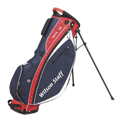 Wilson Staff Ionix Light Golf Carry Bag - Red/Blue