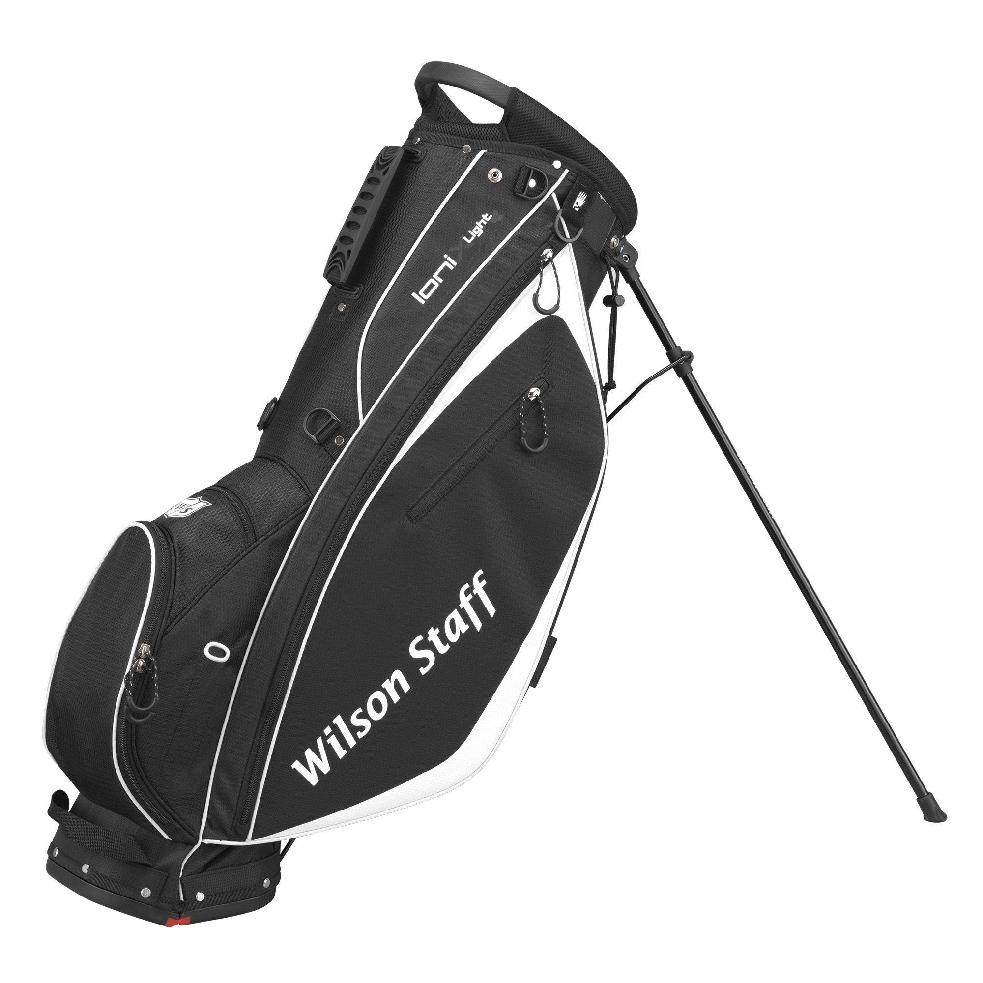 wilson staff ionix light golf carry bag. Black Bedroom Furniture Sets. Home Design Ideas