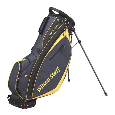 Wilson Staff Ionix Light Golf Carry Bag - Black/Yellow