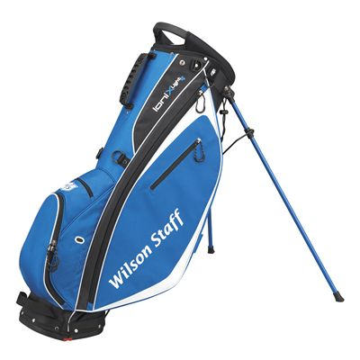 Wilson Staff Ionix Light Golf Carry Bag - Black/Blue