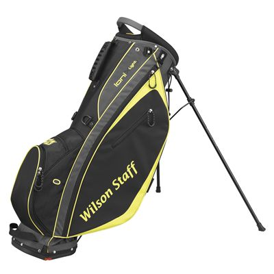 Wilson Staff Ionix Light Golf Carry Bag - Charocal/Yellow