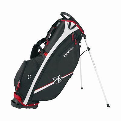 Wilson Staff Ionix SL Golf Carry Bag - Black/WhiteWilson Staff Ionix SL Golf Carry Bag - Black/White