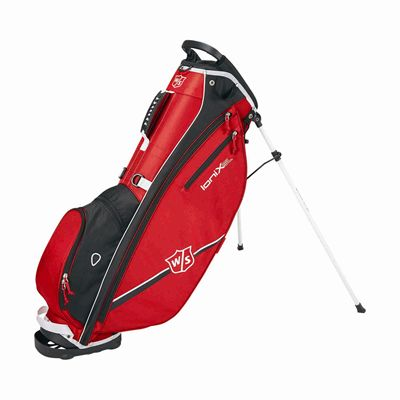 Wilson Staff Ionix SL Golf Carry Bag - Red