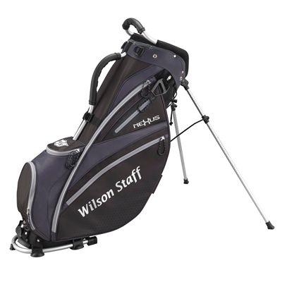 Wilson Staff Nexus Golf Carry Bag-Black-Colour