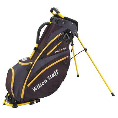 Wilson Staff Nexus Golf Carry Bag-Black-Yellow
