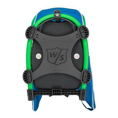 Wilson Staff Nexus Golf Carry Bag-Blue-White-Green-Carry Base