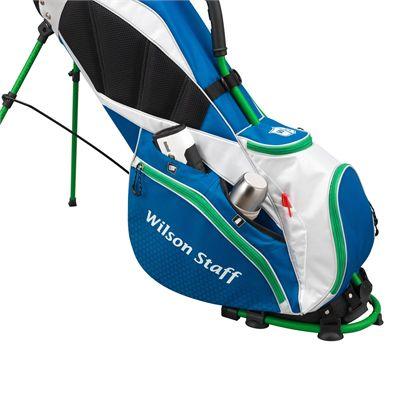 Wilson Staff Nexus Golf Carry Bag-Blue-White-Green-Pockets