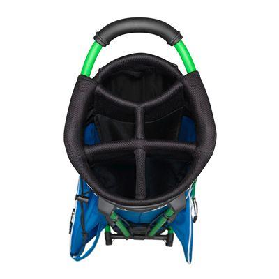 Wilson Staff Nexus Golf Carry Bag-Blue-White-Green-Top View
