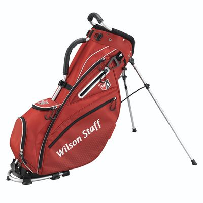 Wilson Staff Nexus Golf Carry Bag-Red-White