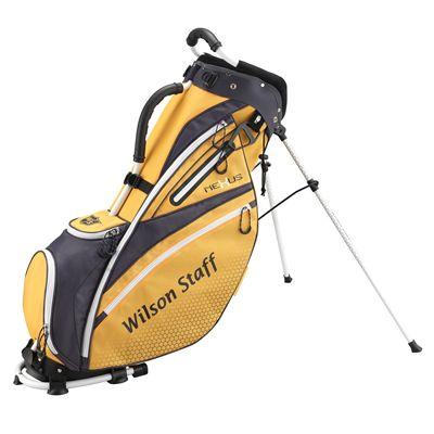 Wilson Staff Nexus Golf Carry Bag-Yellow-White