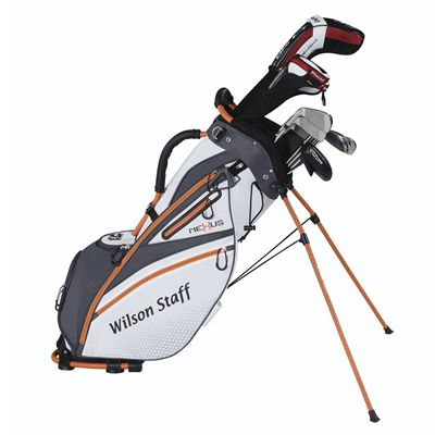 Wilson Staff Nexus Golf Carry Bag - White