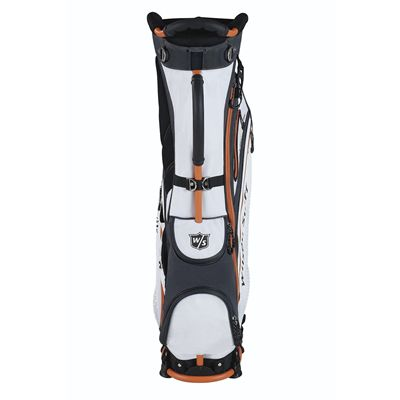 Wilson Staff Nexus Golf Carry Bag - White/Front