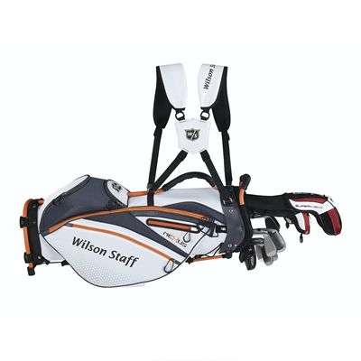 Wilson Staff Nexus Golf Carry Bag - White/Carry