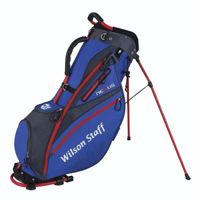 Wilson Staff Nexus Golf Carry Bag - Blue