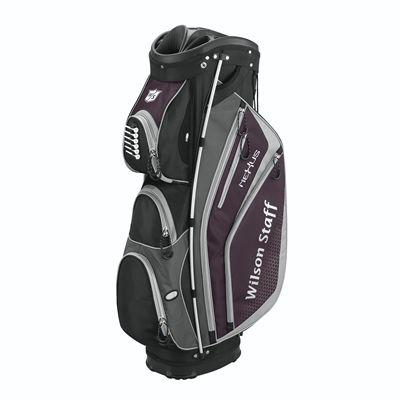 Wilson Staff Nexus Golf Cart Bag-Black-Grey