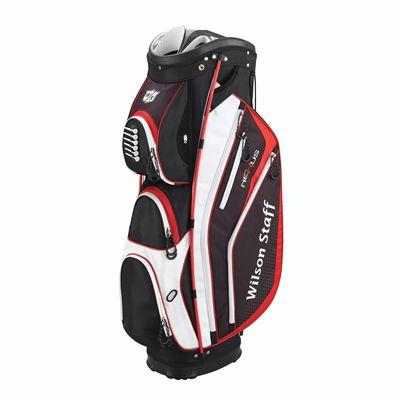 Wilson Staff Nexus Golf Cart Bag-Black-White-Red
