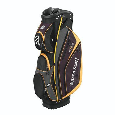 Wilson Staff Nexus Golf Cart Bag-Black-Yellow