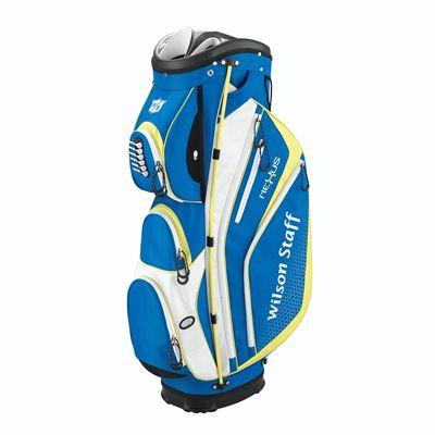 Wilson Staff Nexus Golf Cart Bag-Blue-White-Yellow