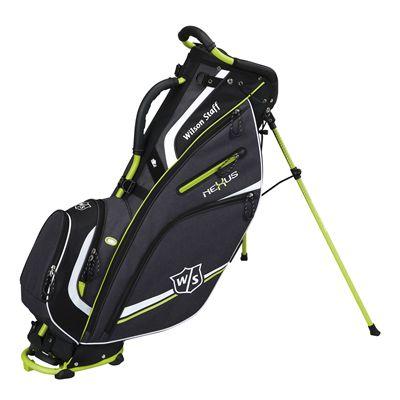 Wilson Staff neXus II Carry Bag-Black-Lime