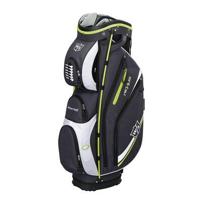 Wilson Staff neXus II Cart Bag-Black-Lime