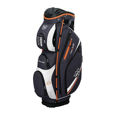 Wilson Staff neXus II Cart Bag-Black-Orange