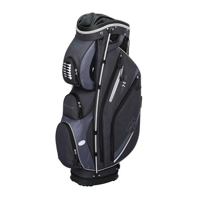 Wilson Staff neXus II Cart Bag-Black-Silver